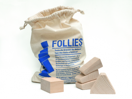 "Lessing - Stapelspiel ""Follies im Sack"""
